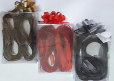Laços mate ideal-bow (branco / ouro / vermelho / prata)