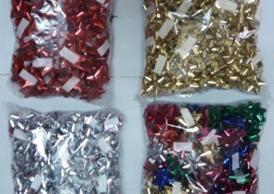Laços metalizados