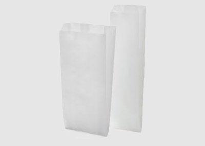 Saquetas papel branco 32/33 GR
