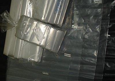 Sacos plástico BD cristal