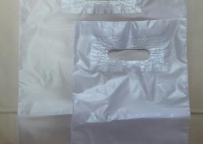 Sacos plástico AD incolor AVZ C/ reforço