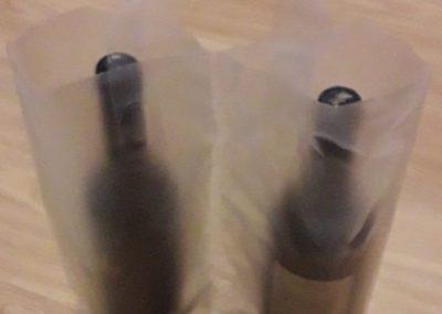 Saco plástico AD incolor asa flexível