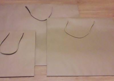 Saco papel kraft 200gr c/ cordão